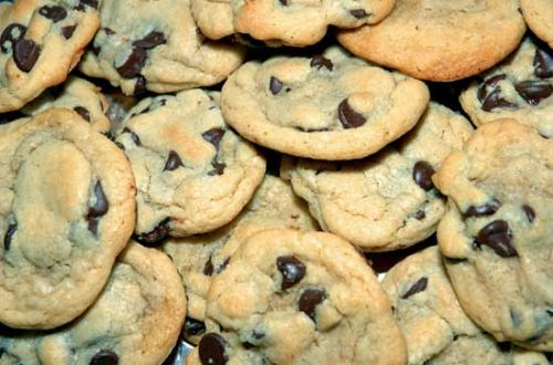 Angel Crisps Chocolate Chip Cookies