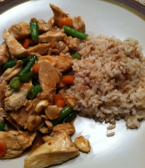 Stir Fry Chicken with green beans
