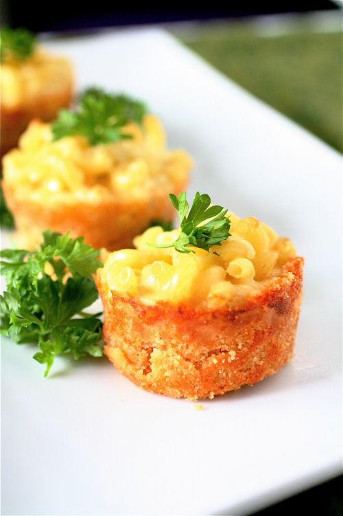 Mini Mac N'Cheese Pies