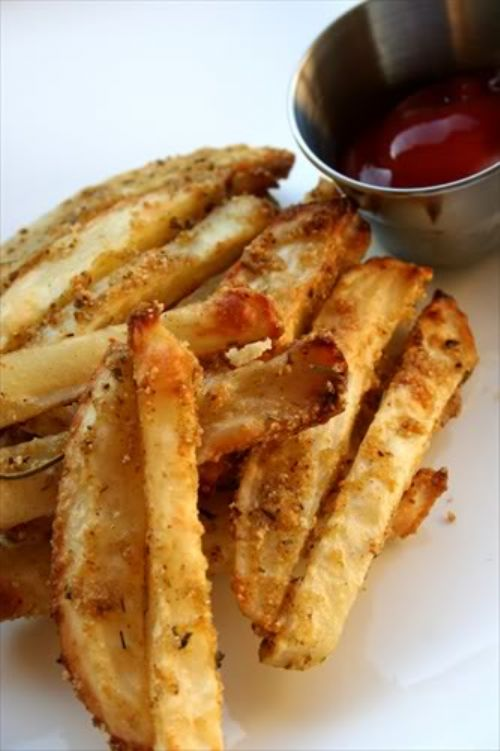 Baked Parmesan Fries