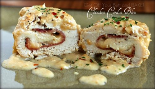 Slow Cooker – CHICKEN CORDON BLEU