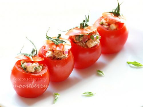 Mozzarella Stuffed Tomato