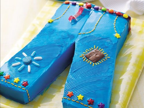 Groovy Jeans Cake