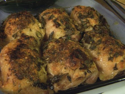 Parmesan and Herb Chicken