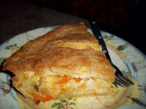 Cheater Chicken Pot Pie