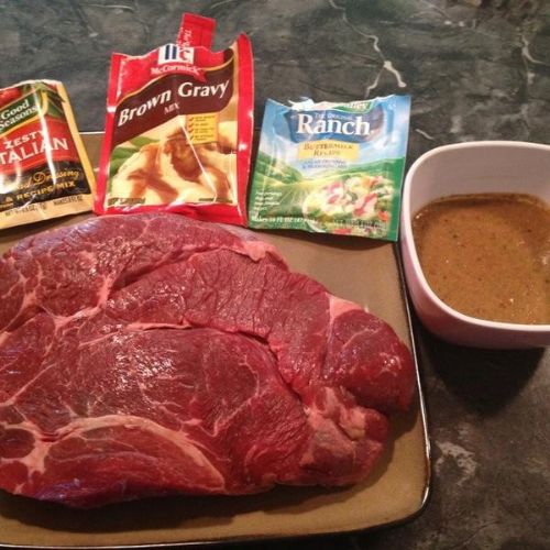 Easy Crock Pot Beef Roast Recipe