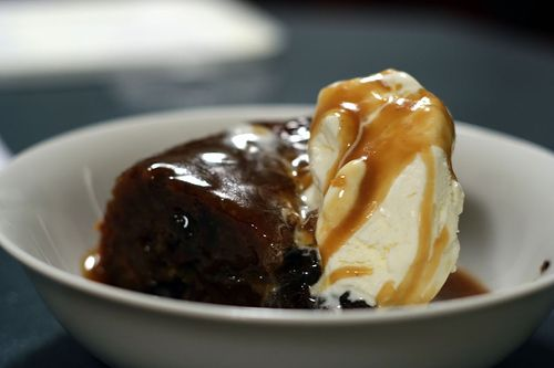 Sticky Date Pudding with Brown Sugar Sauce