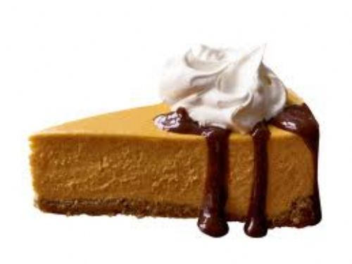 Fall -Pumpkin Cheesecake with Bourbon-Spiked Cream