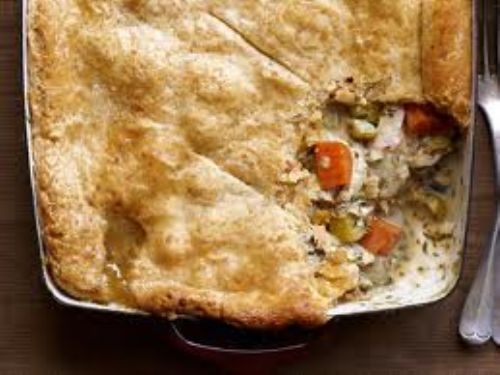 Chicken - Chicken Potpie with Cheddar Crust