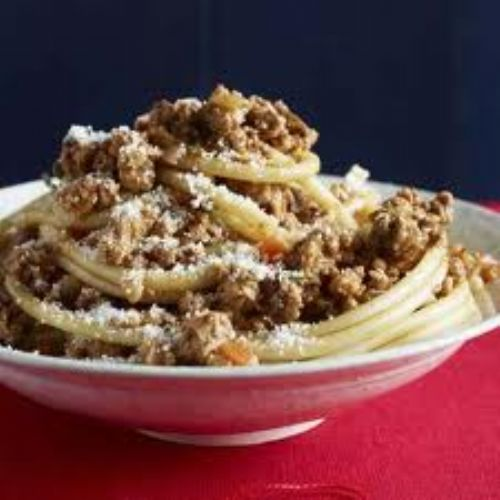 Pasta - Double-Meat White Ragu
