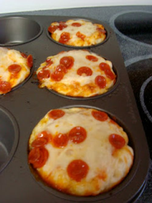 Muffin Mold Pizzas