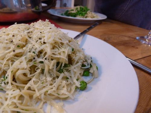 Pesto and Green Veg Pasta