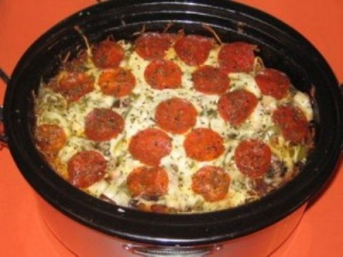 Crock Pot Pizza