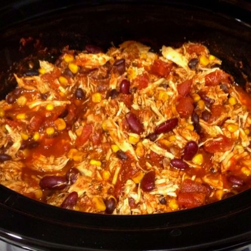 Football Season Chicken Chili