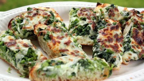 Pizza Bread - Broccoli Rabe