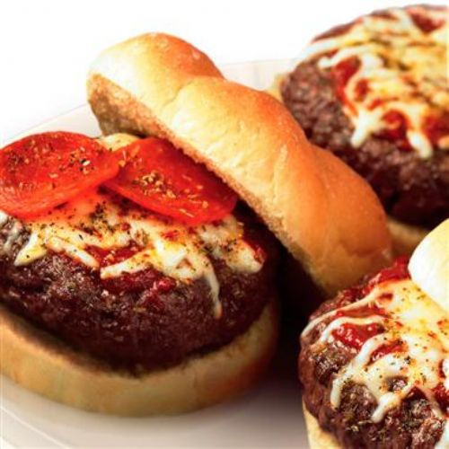 Pizza Slider Burgers
