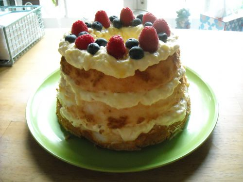 Pineapple Angel Cake
