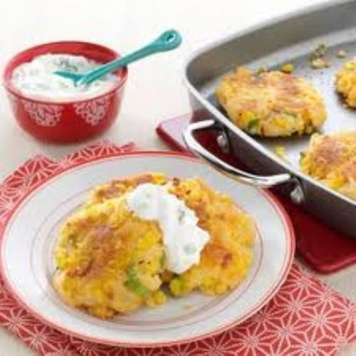 Potato - Loaded Cheddar-Corn Potato Patties