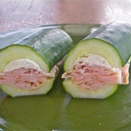 Cucumber Sub Sandwich! Recipe