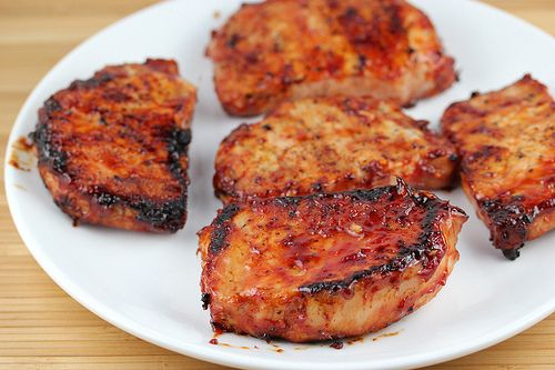 Honey Garlic Porkchops