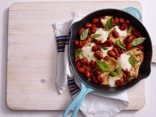 Skillet Chicken Parm