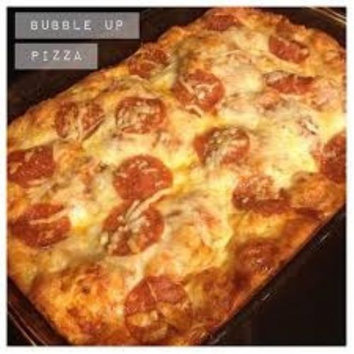 Bubble up pizza