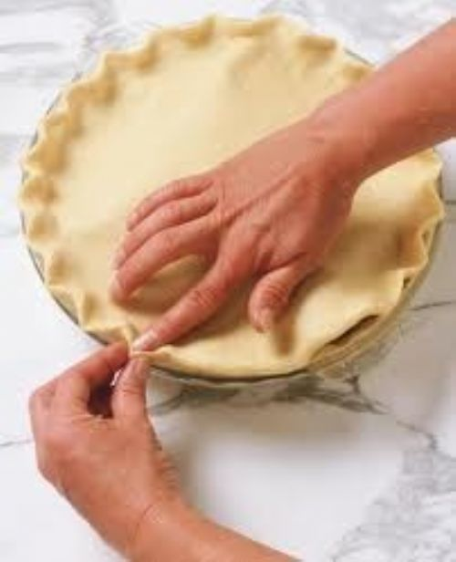 Stir n roll pie crust