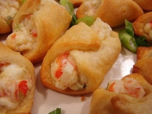 Crab Filled Crescent Rolls