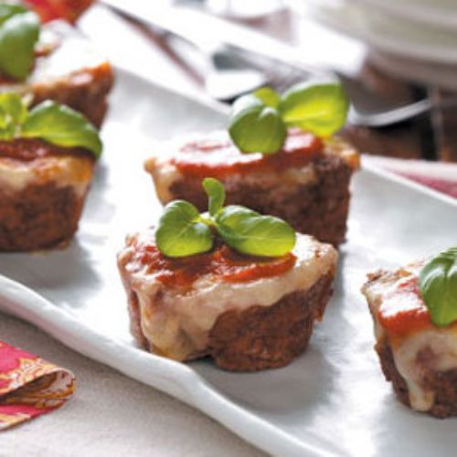 Pizza Meat Loaf Cups