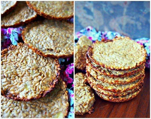 Flaxseed Mini Crackers