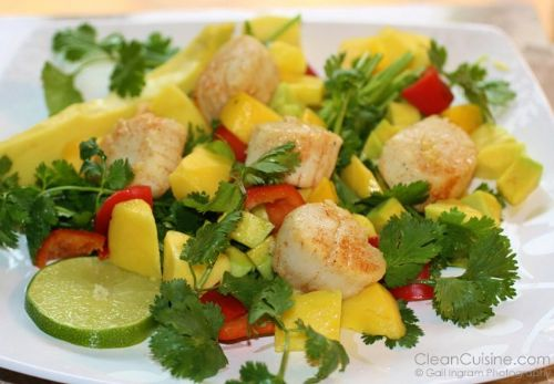 Fresh Summer Scallop Salad
