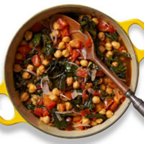 Chickpea-Chard Stew