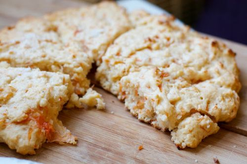 Grapefruit  Yogurt Scones