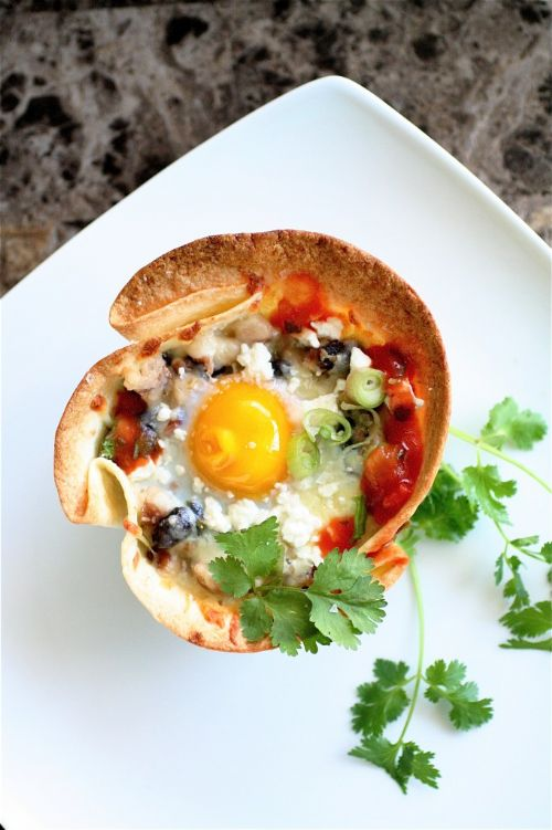 Huevos Rancheros In Tortilla