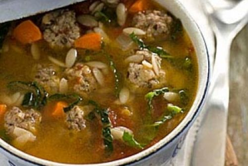 Berda's Quick Italian Wedding Soup