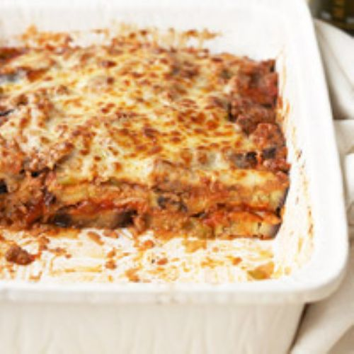 Beef - Eggplant and Beef Casserole