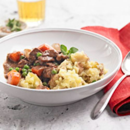 Stew - Beef Stew and Garlic Mash