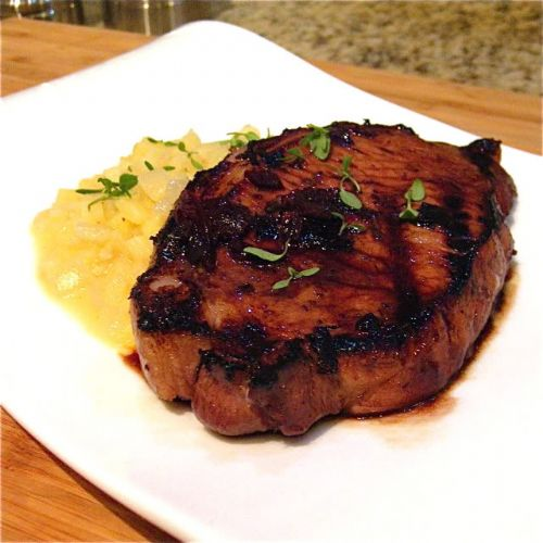 Balsamic Pork Chop Recipe