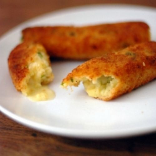 Mustard-Parsley Potato Croquettes