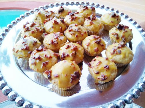 Wildtree Cranberry Orange Mini Muffins w/Glaze