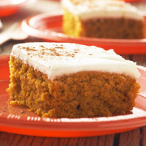 Fall - Autumn Pumpkin Bars