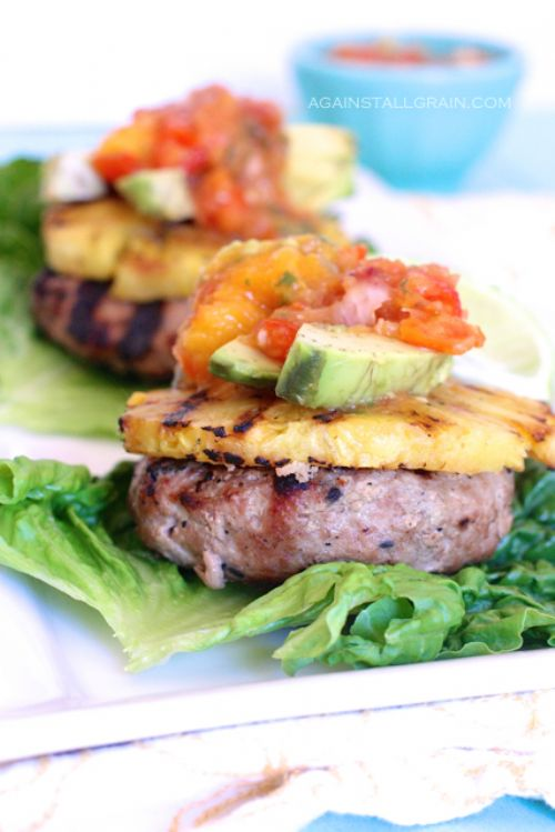 Hawain Turkey Burgers