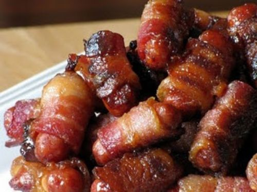 Bacon-Wrapped Lil Smokies