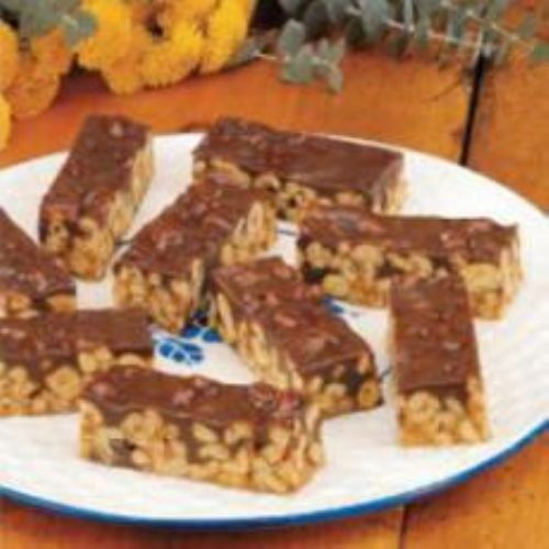 Peanutty Chocolate Chip Bars