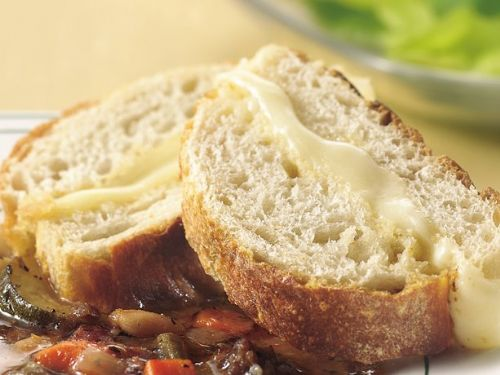 Caesar-Mozzarella French Bread