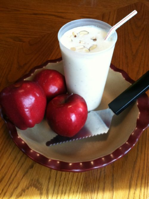 Apple Pie Protein Smoothie