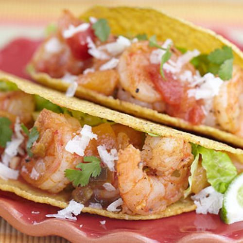 Sweet and Spicy Shrimp Taco