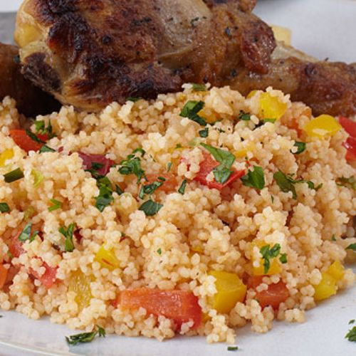 Sweet and Spicy Salsa Couscous