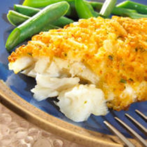 Cornflake Crusted Fish