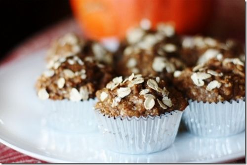 Banana, Oat, and Chia Seed Muffins